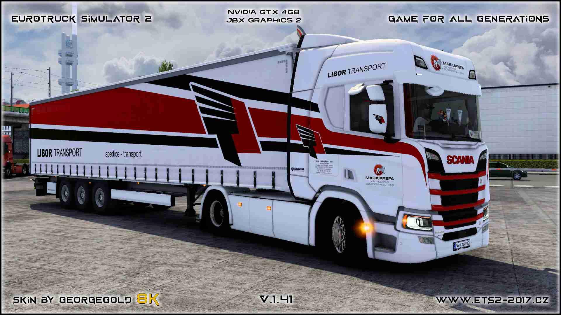 Combo Scania NG R Libor Transport