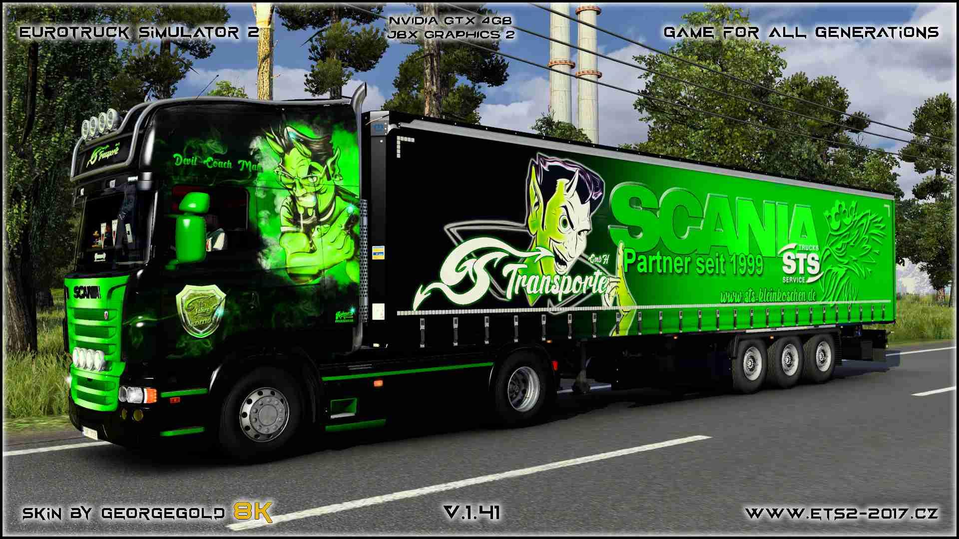 Combo Scania RJL GS Transporte 2+1