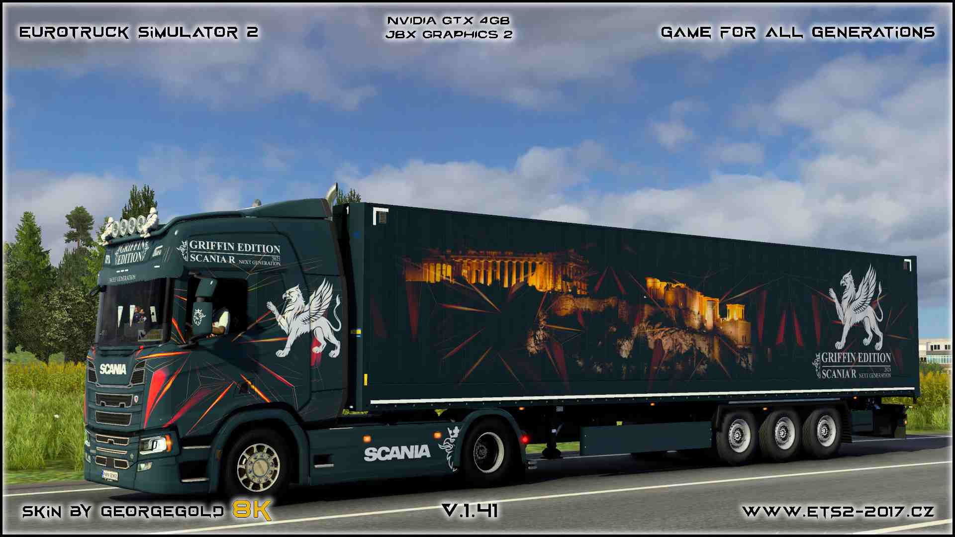 Combo Scania R NG Griffin Edition
