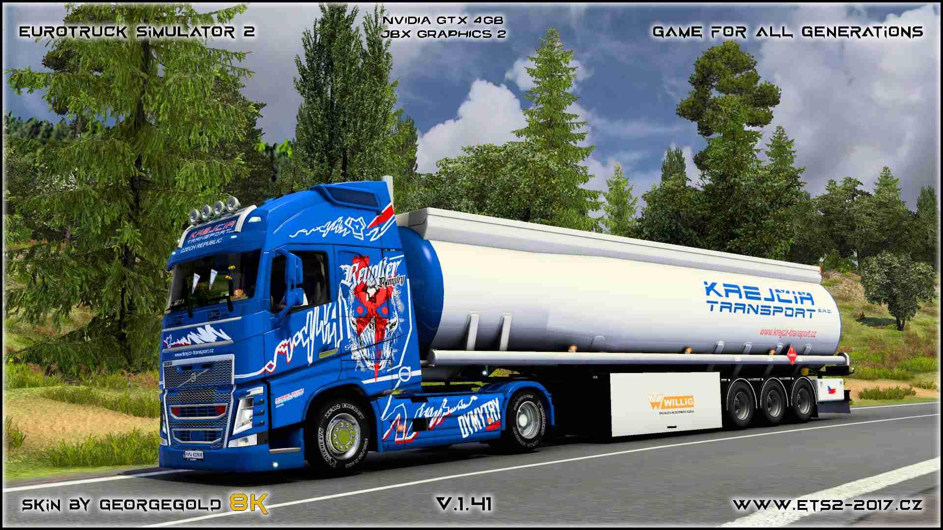 Combo Volvo FH 2012 Krejcir Transport