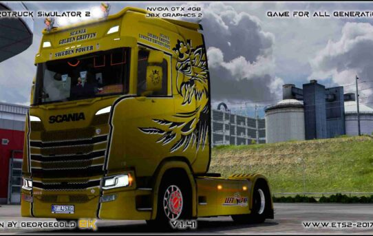 Scania S NG Golden Griffin