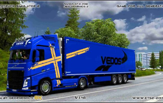 Combo Volvo FH 2012 Vedos