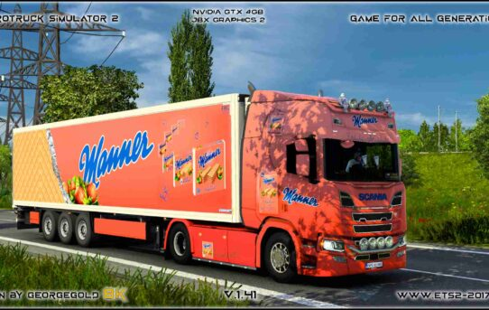 Combo Scania R NG Manner