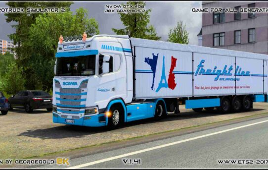 Combo Scania S NG Freight Line