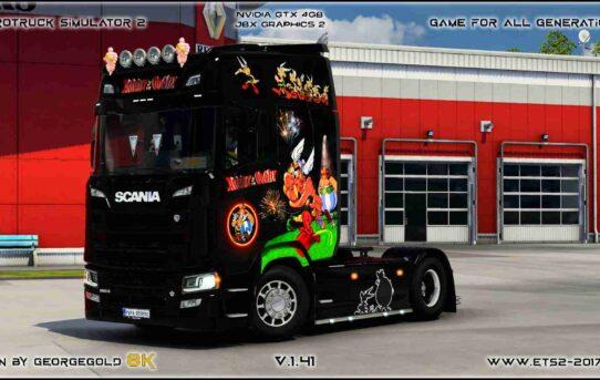 Scania S NG Asterix a Obelix