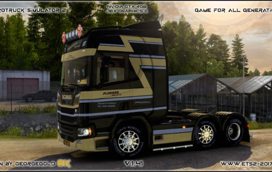 Scania R NG Plokker Pallets
