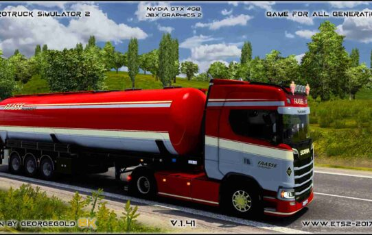 Combo Scania S NG Faasse Transport