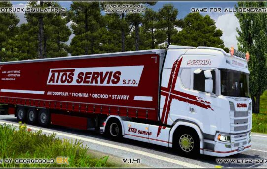 Combo Scania S NG Atos Servis