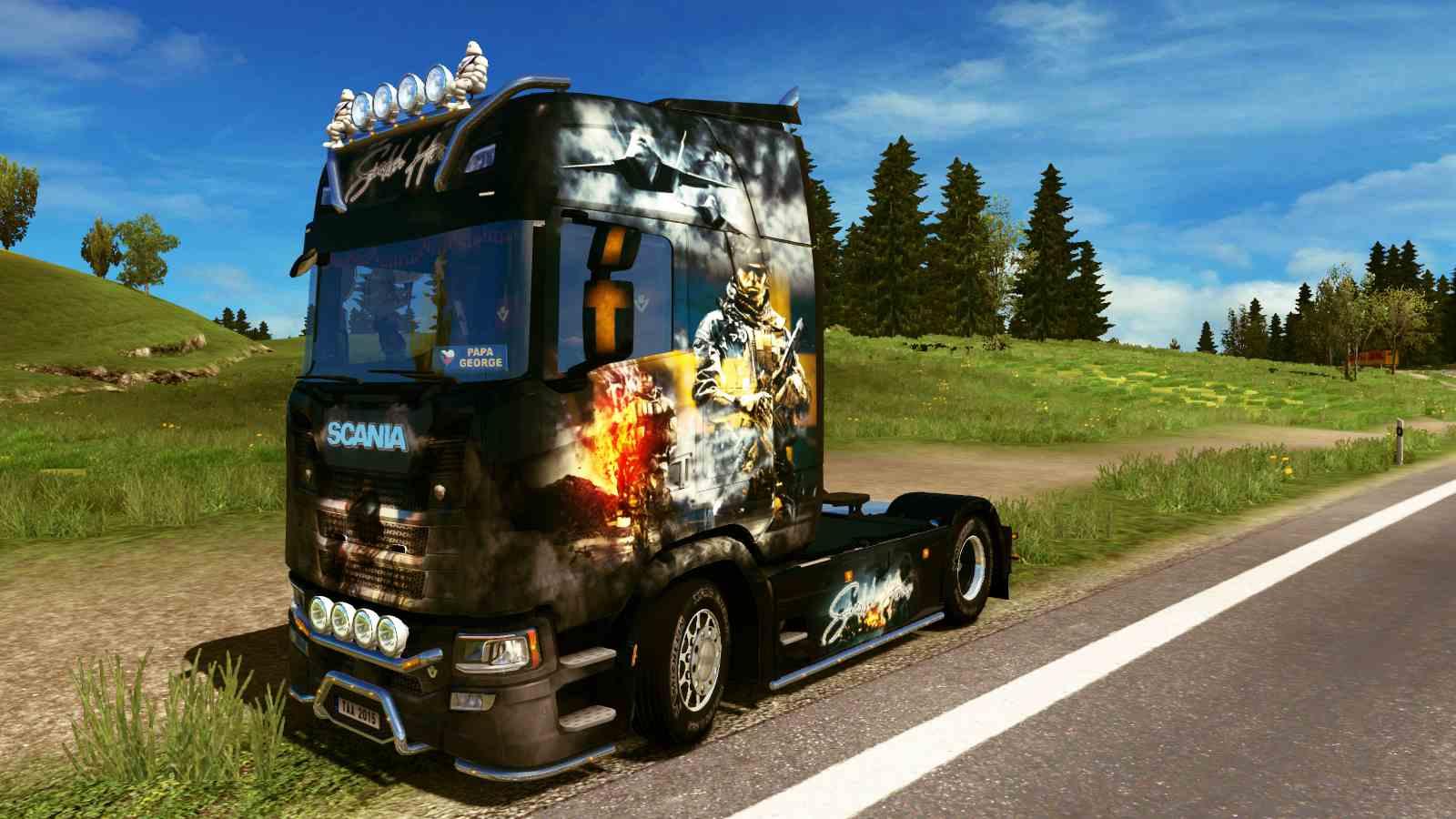 Scania S NG Swedish Heroes