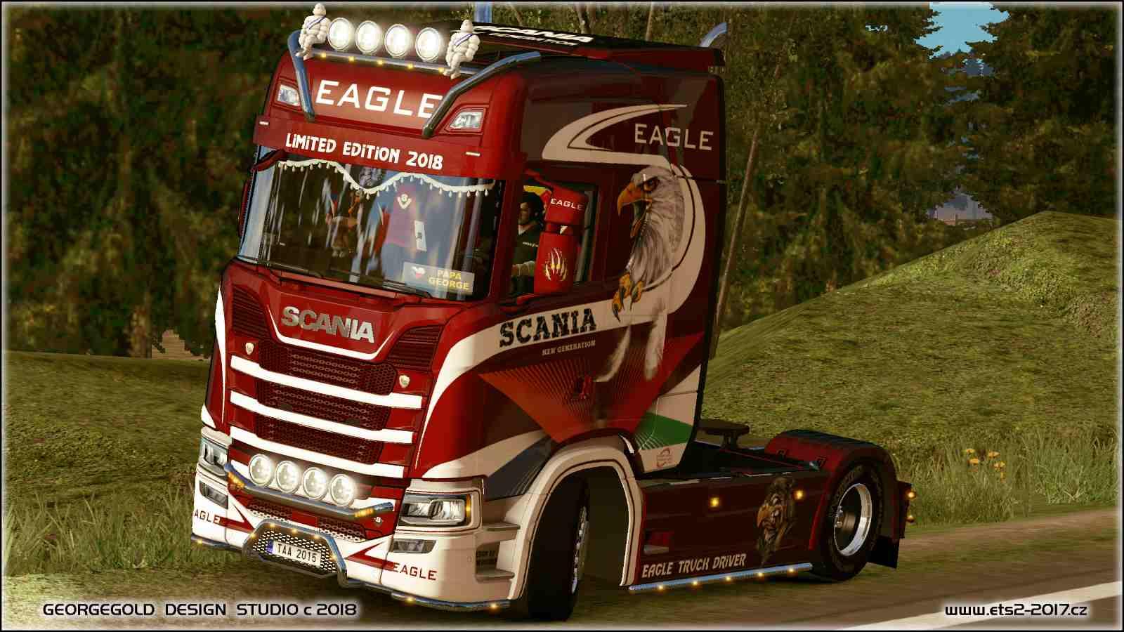 Scania S NG Eagle