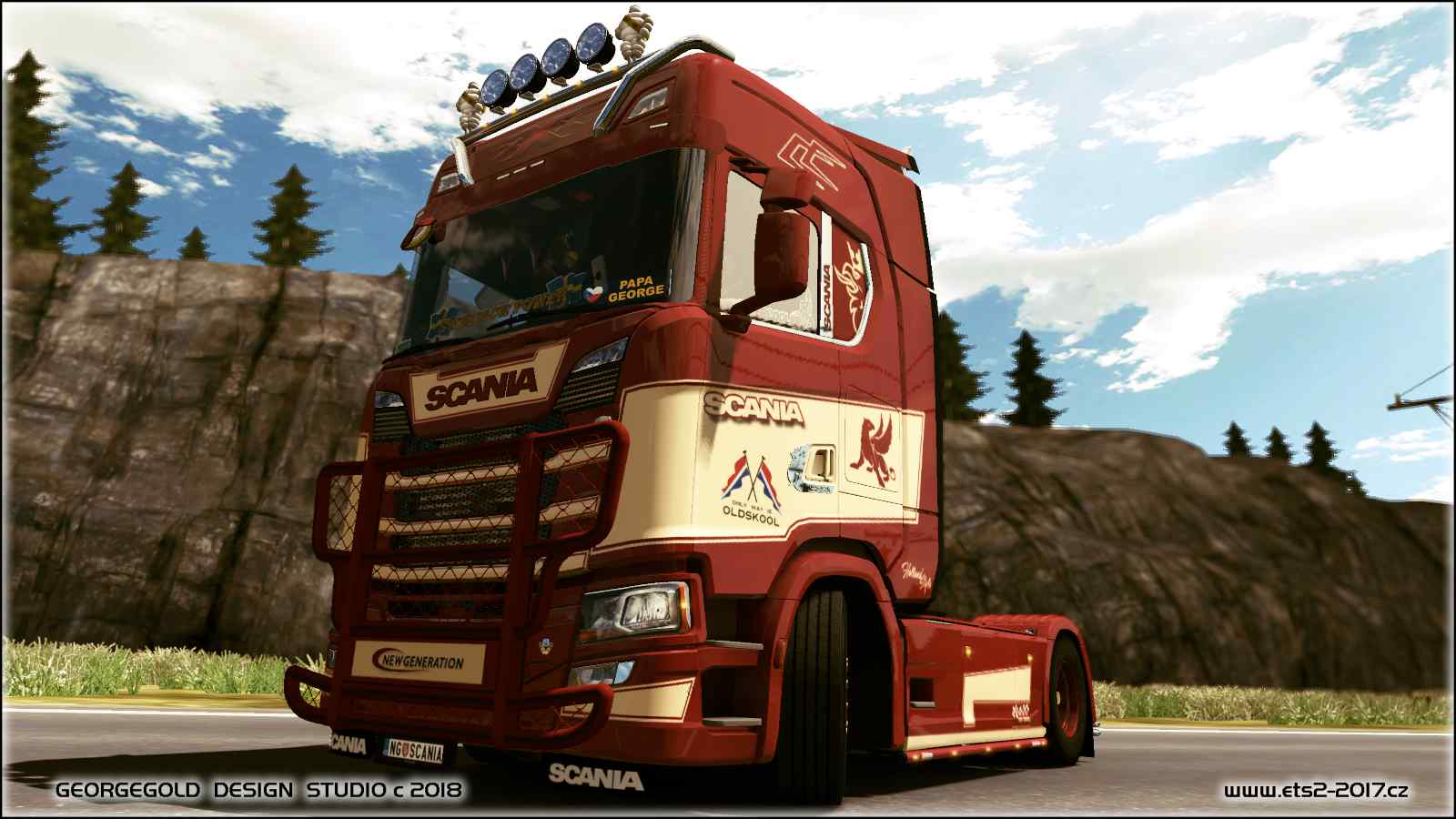 Scania S NG Holland style