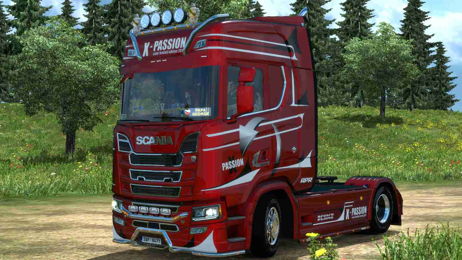 Scania S NG Passion metallic