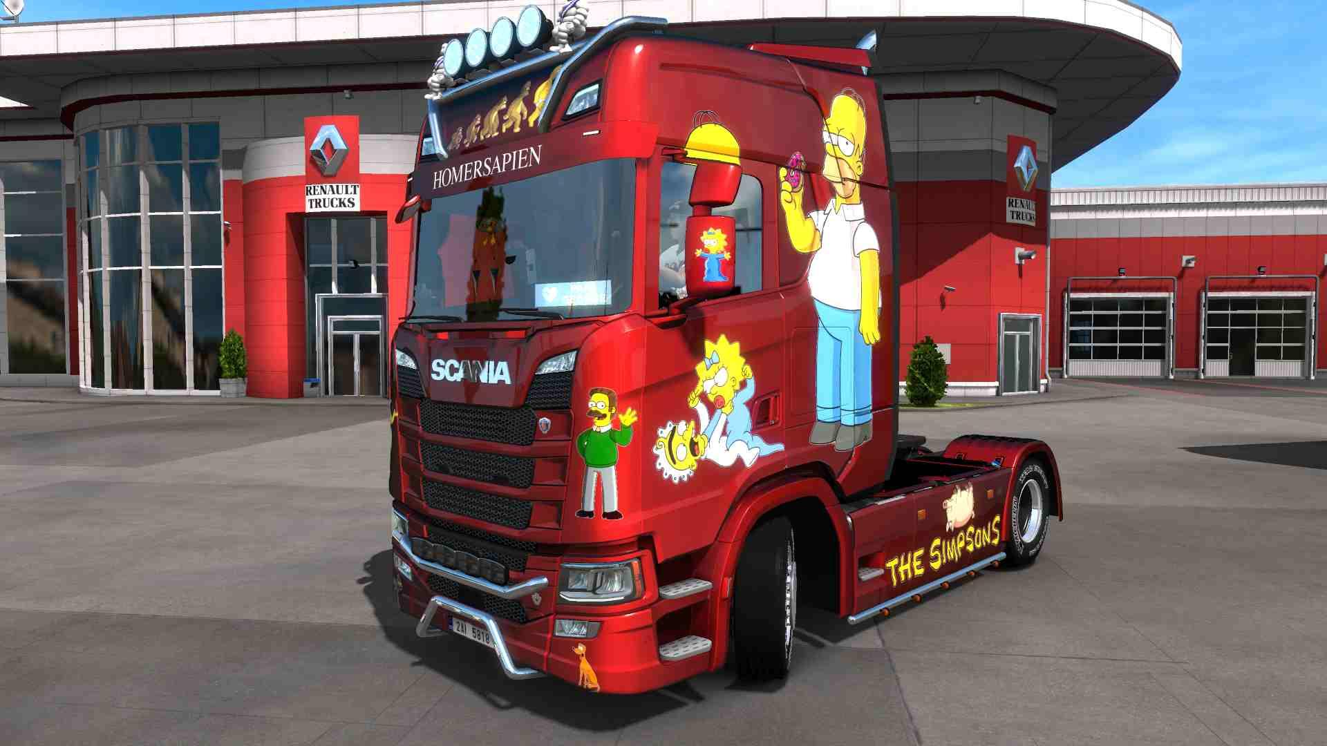 Scania S NG Simpson metallic
