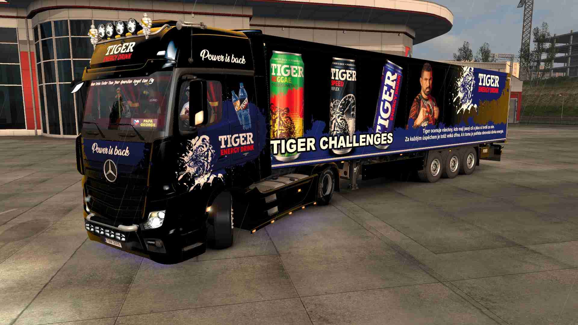 Combo MP4 Tiger Energy