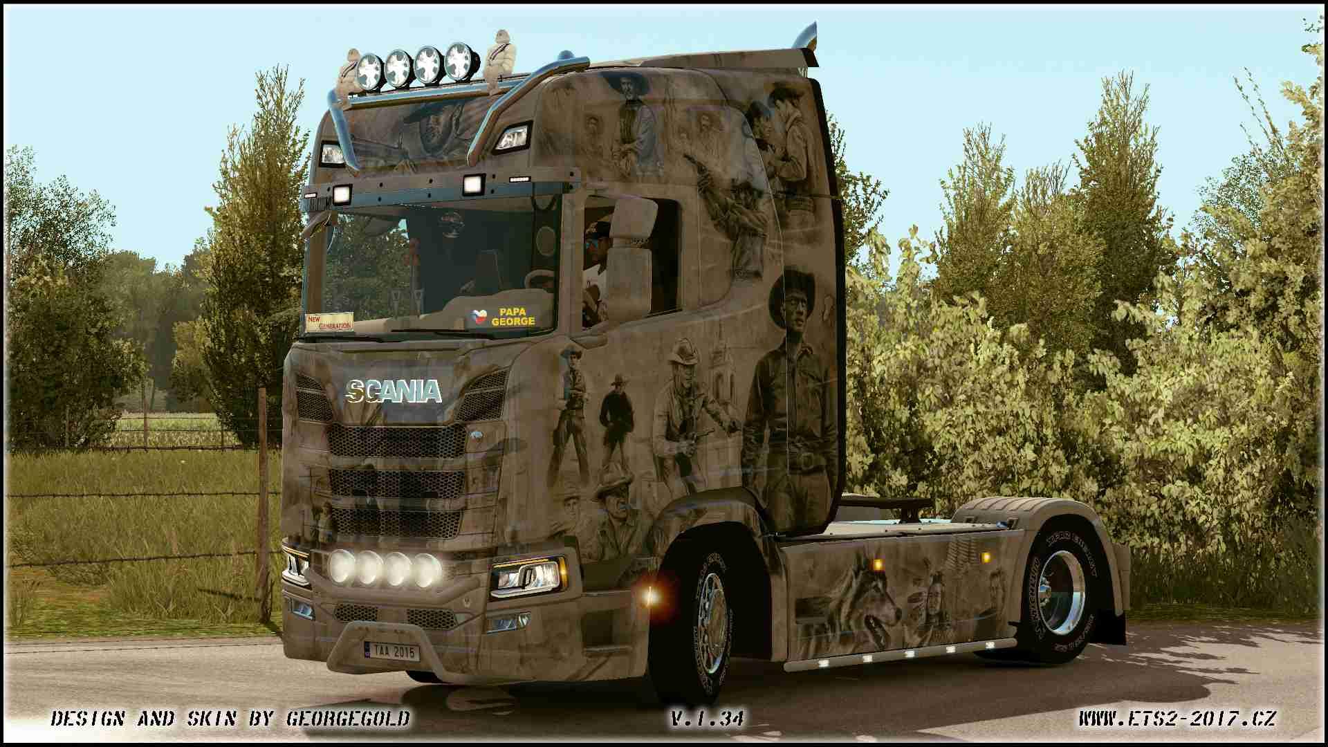 Scania S NG Western