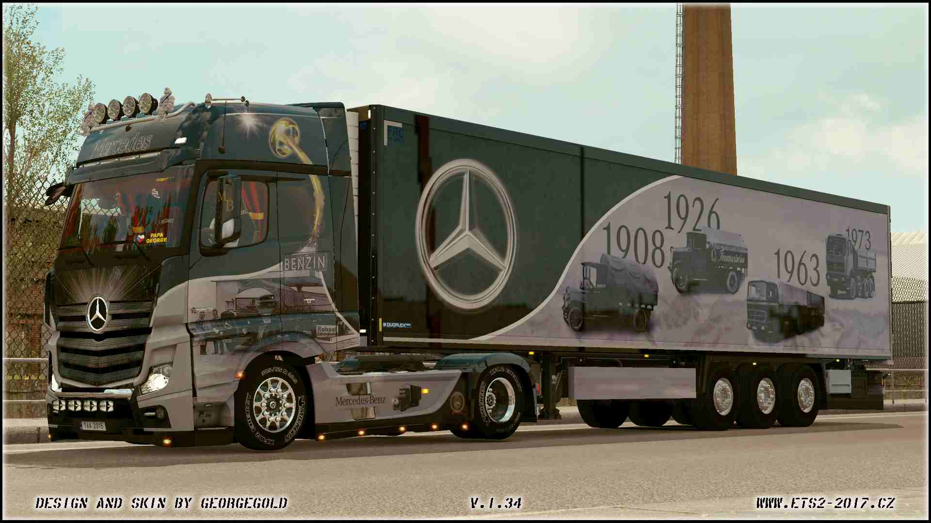 Combo MP4 Actros Airbrush Historical