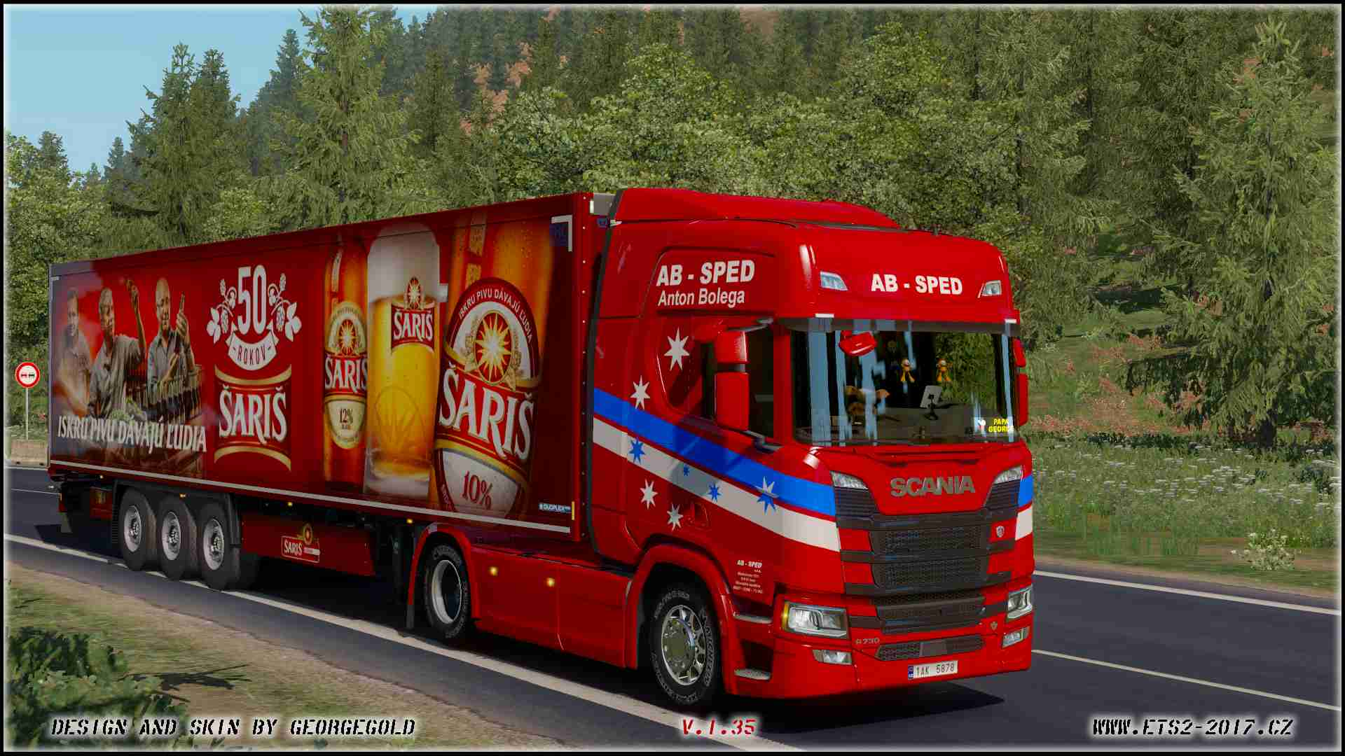 Scania NG R AB Sped