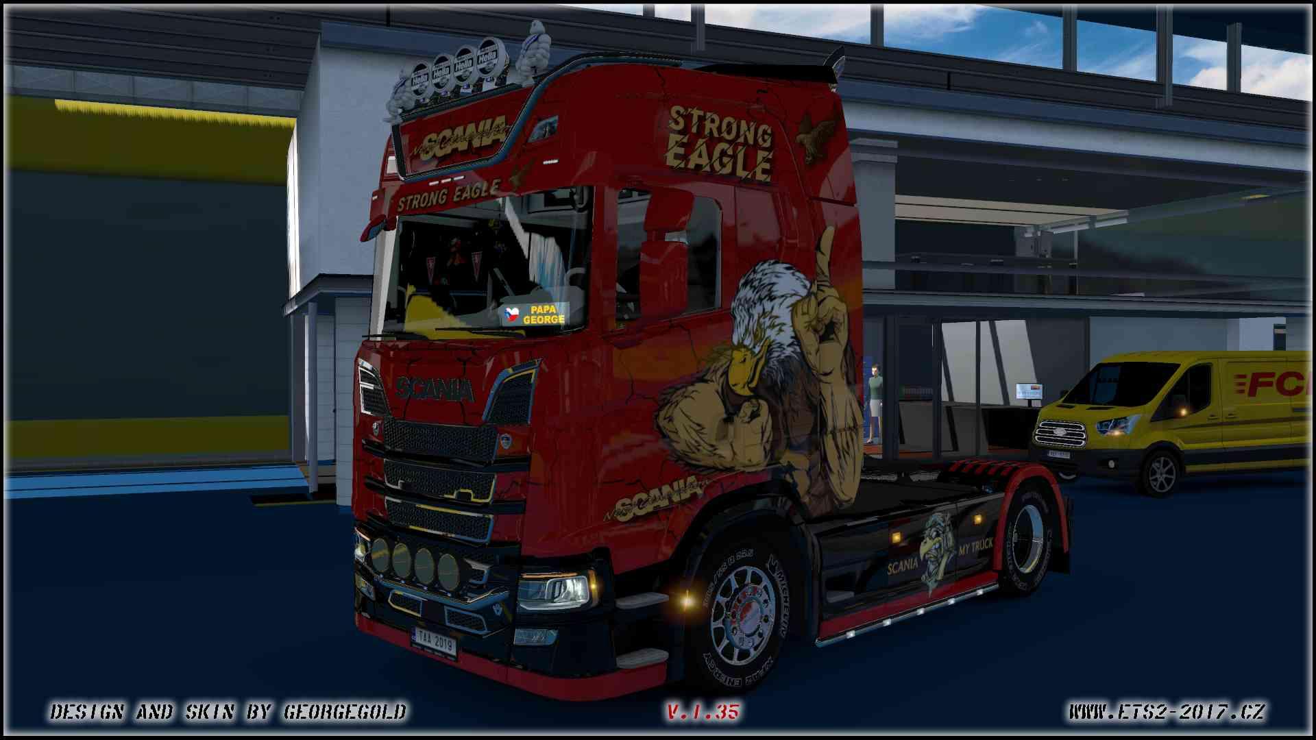 Scania S NG Strong Eagle