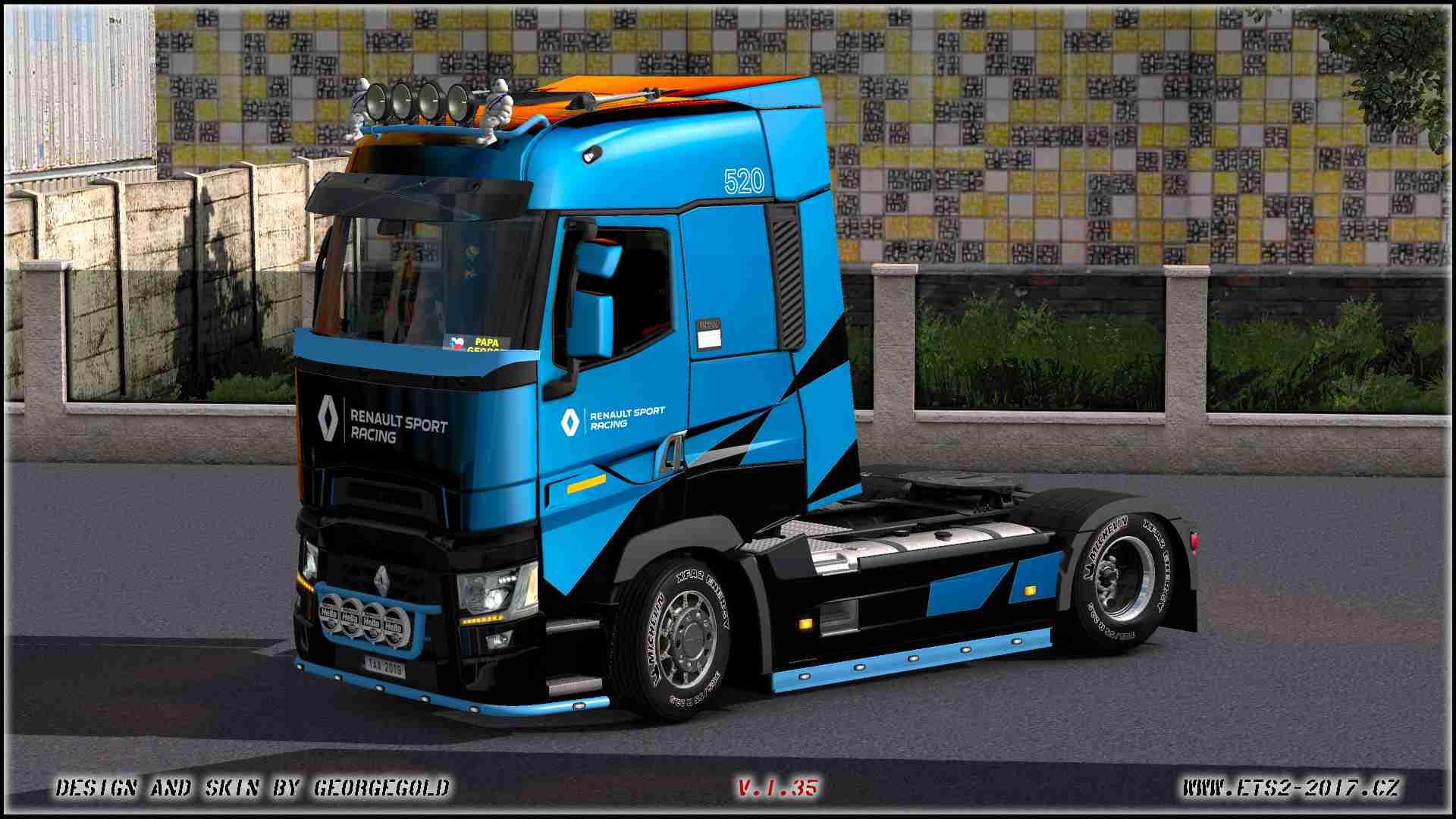 Skin Renault T SCS Racing Metallic