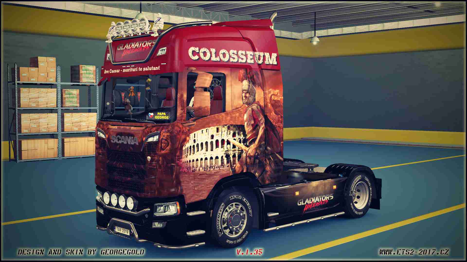 Scania S NG Colosseum