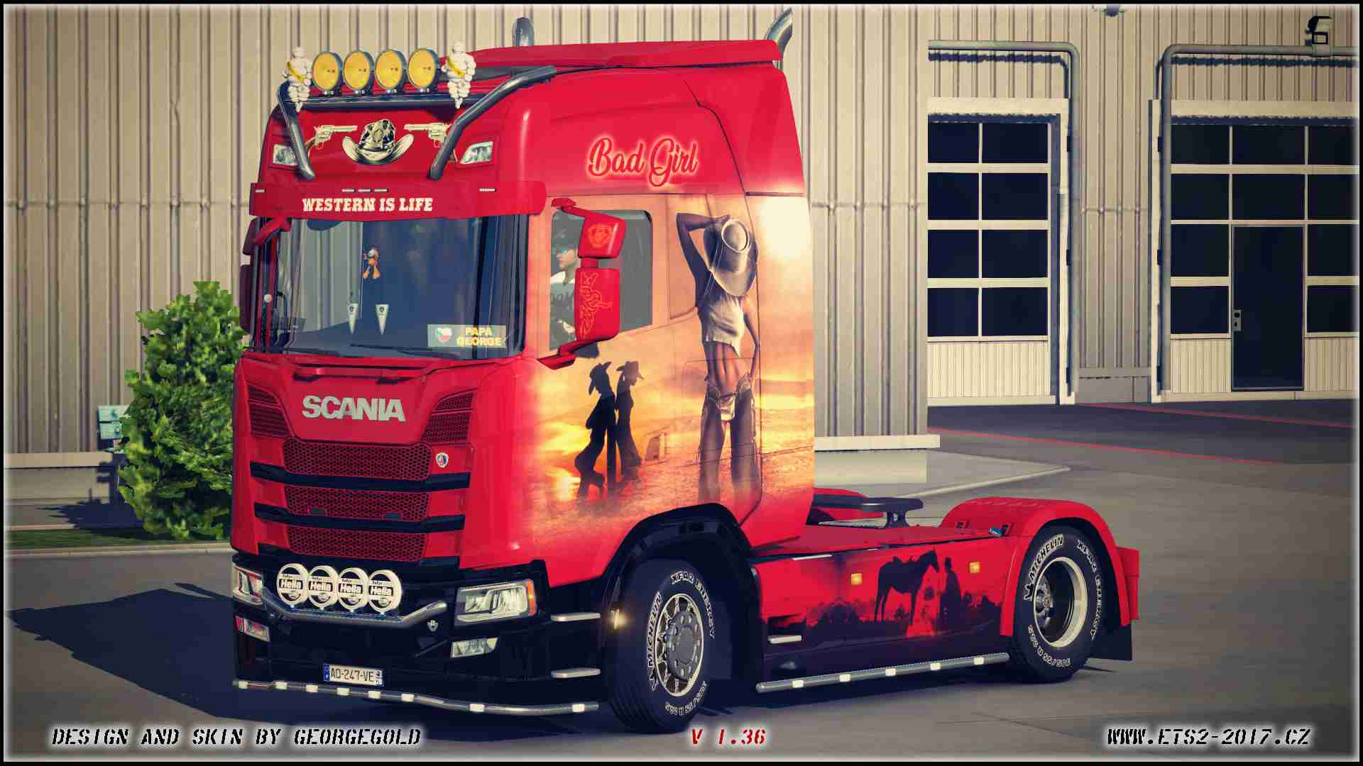 Scania S NG Western is Life