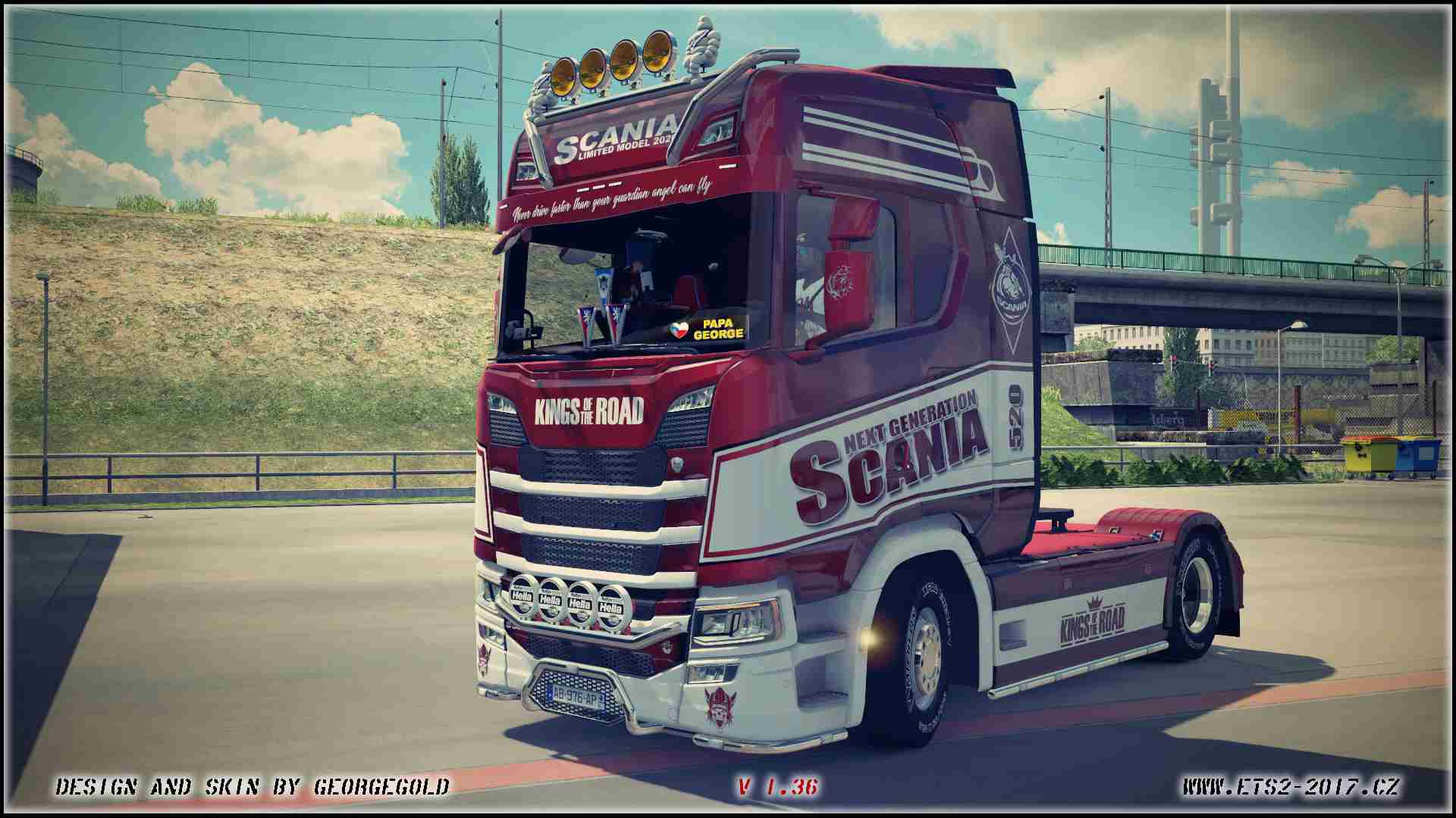 Scania S NG Kings of the road
