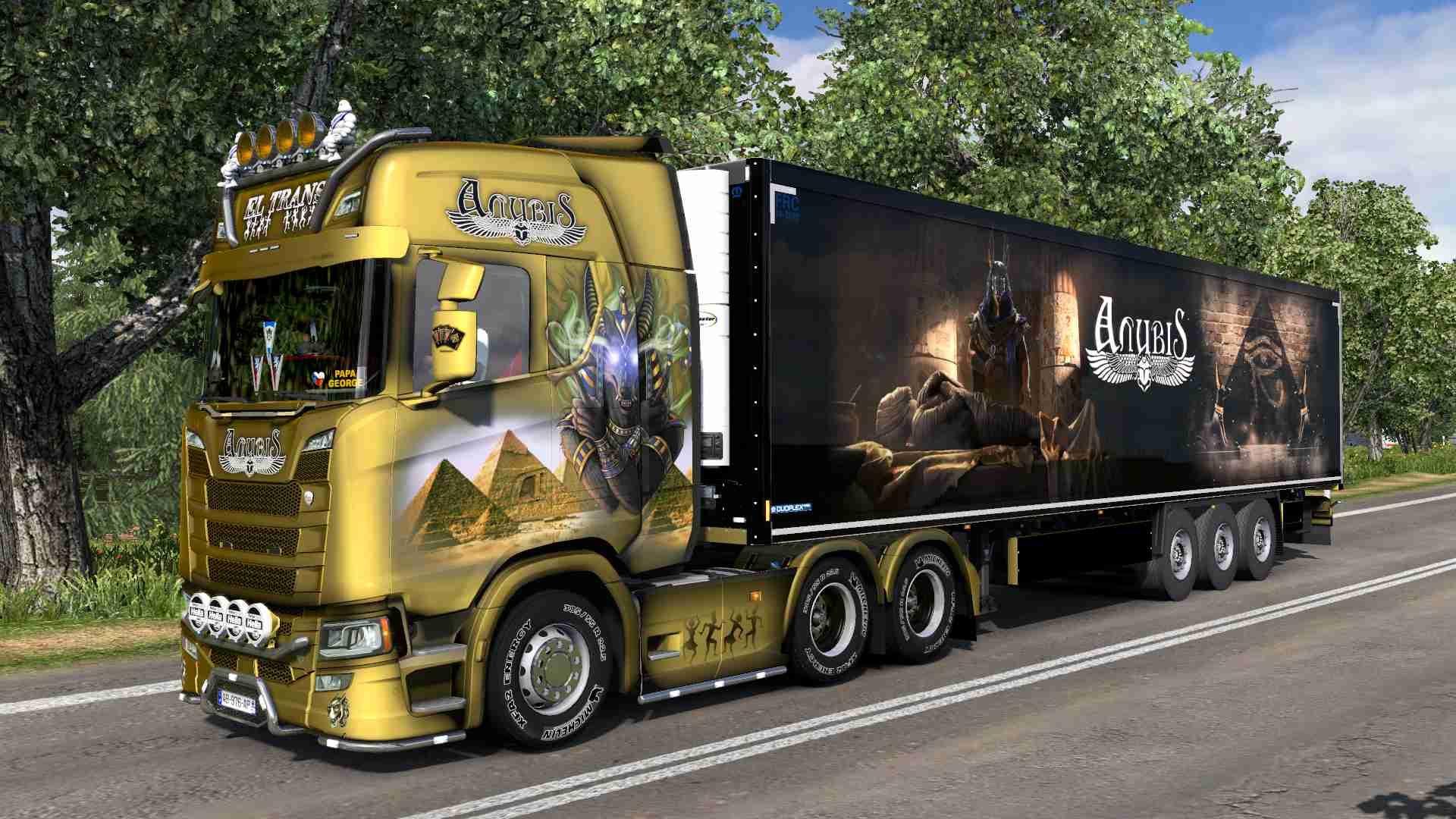 Combo Scania S NG Anubis