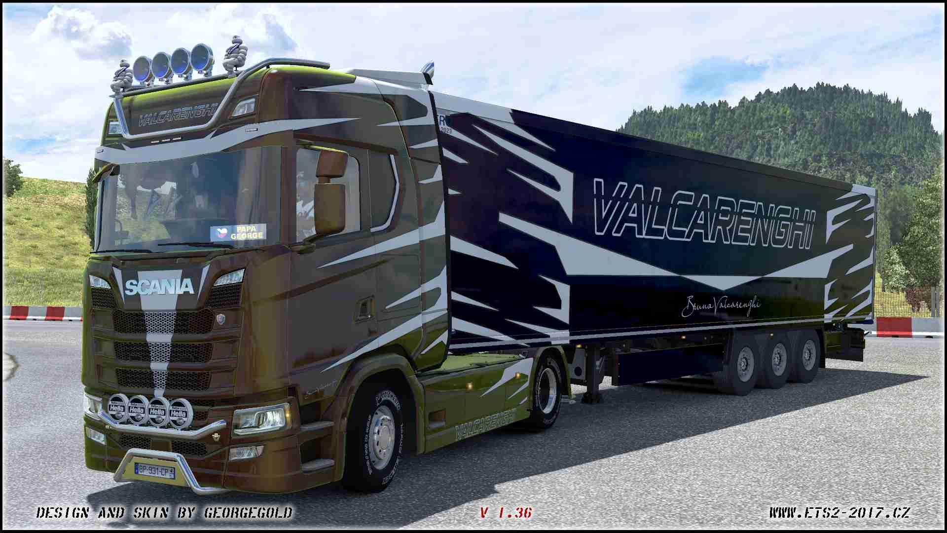 Combo Scania NG S Valcarenghi metallic