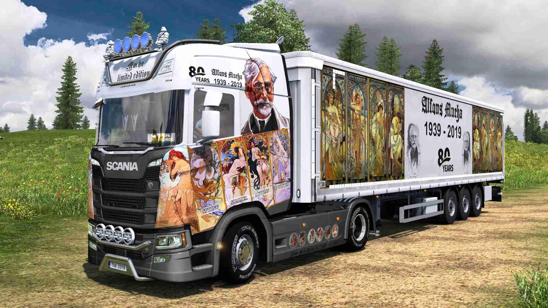 Combo Scania S NG Alfons Mucha
