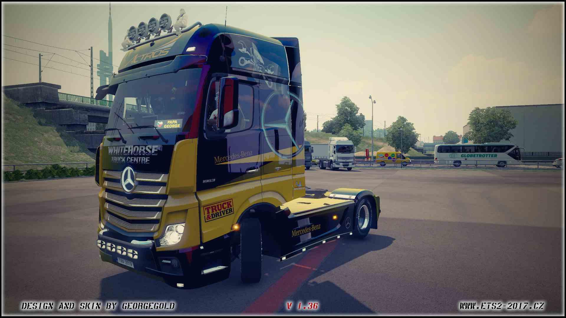 MP4 Truck & Driver