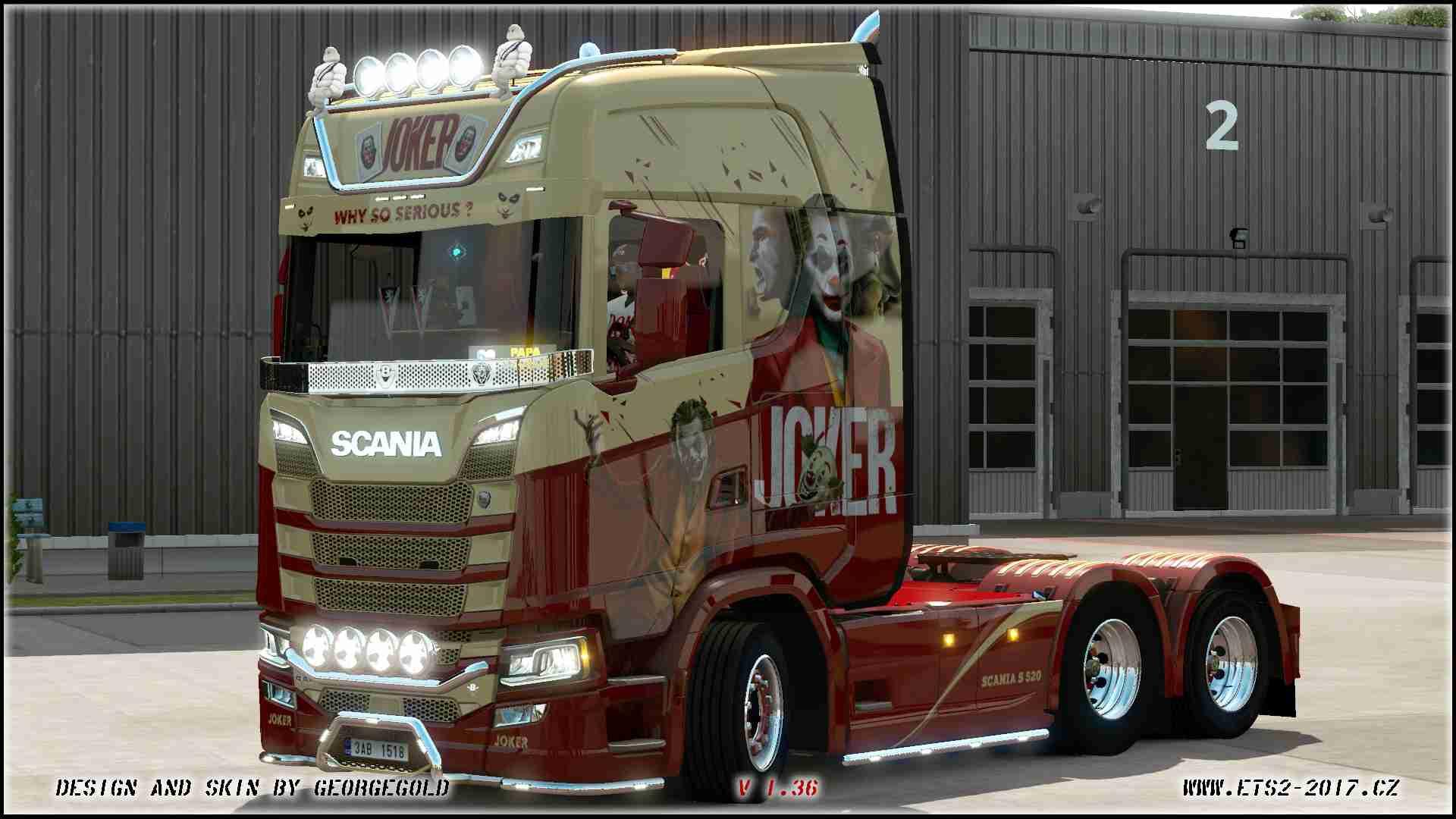 Scania S NG Joker