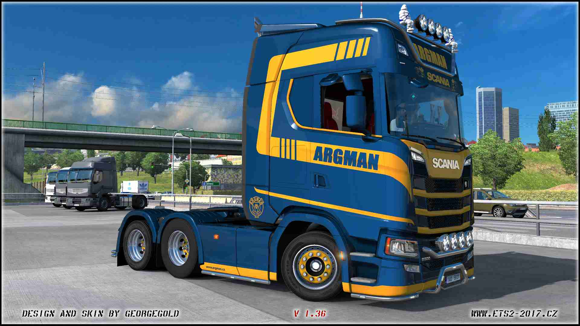 Scania NG S Argman Gold