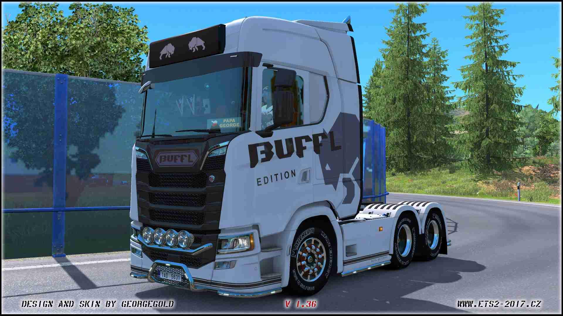 Scania S NG Buffl Edition