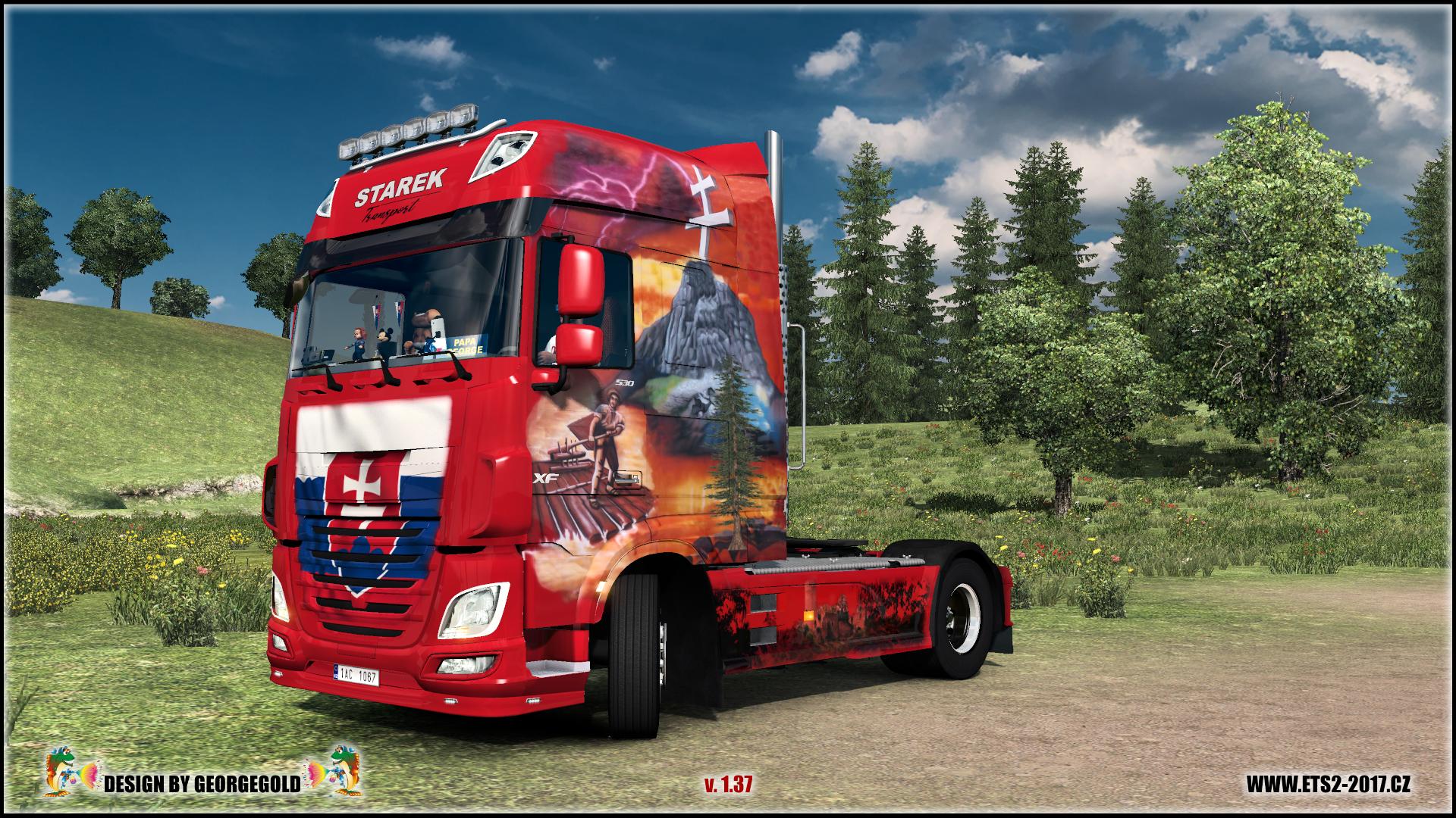 DAF Euro6 Starek Transport