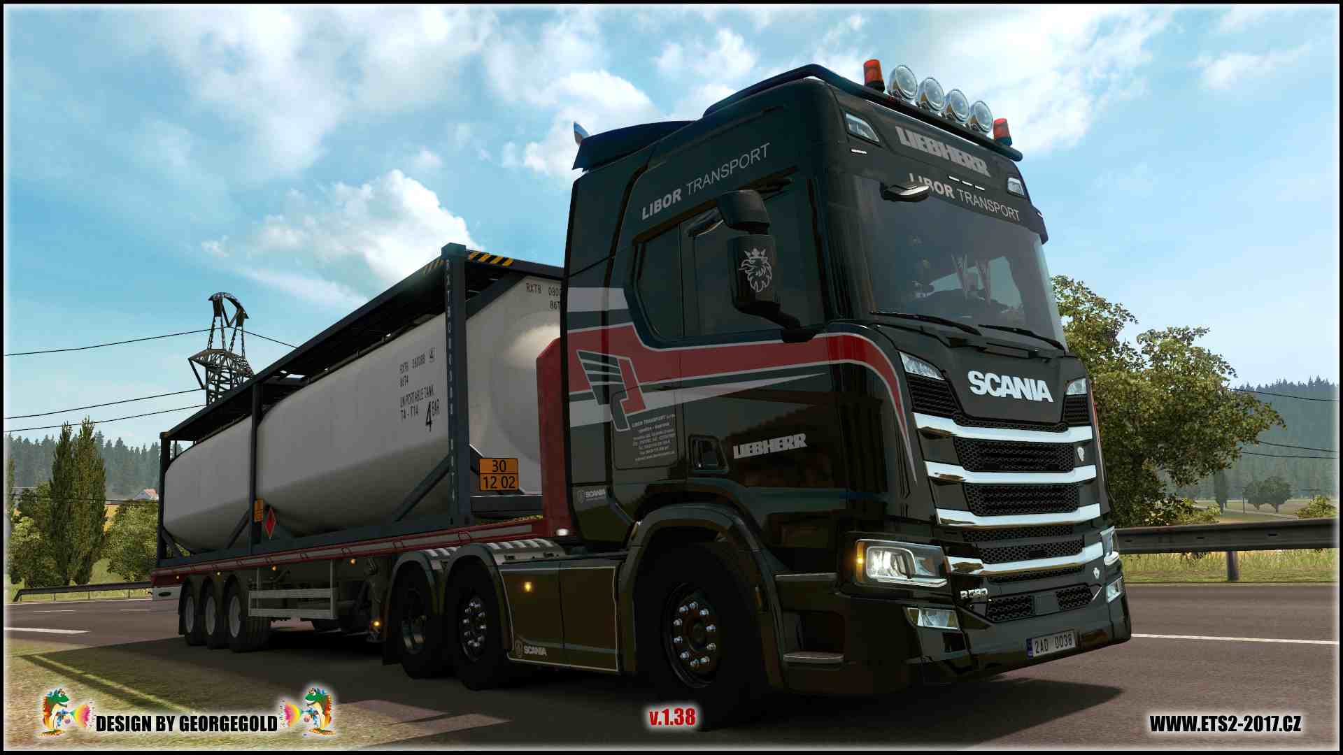 Scania R NG Liebherr Libor Transport