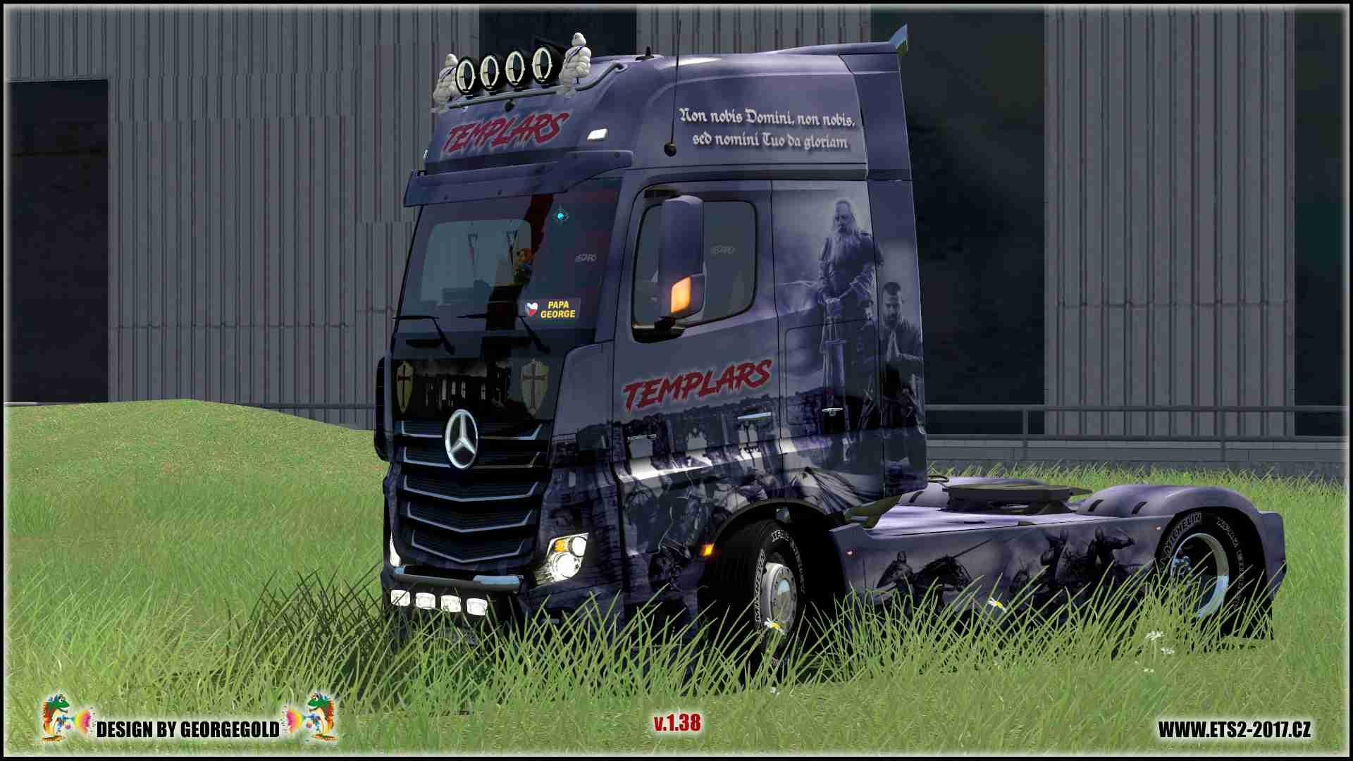 Mercedes Actros 2014 Templars