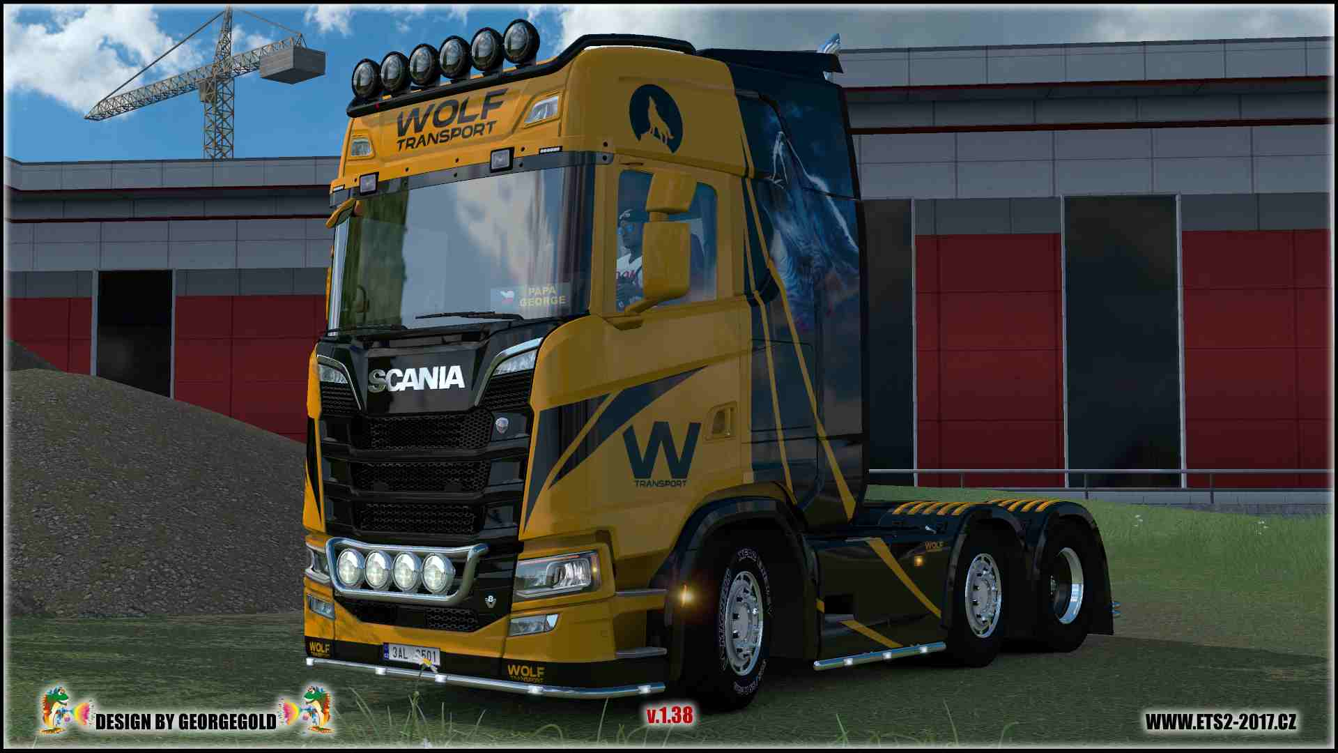 Scania S NG Wolf Transport