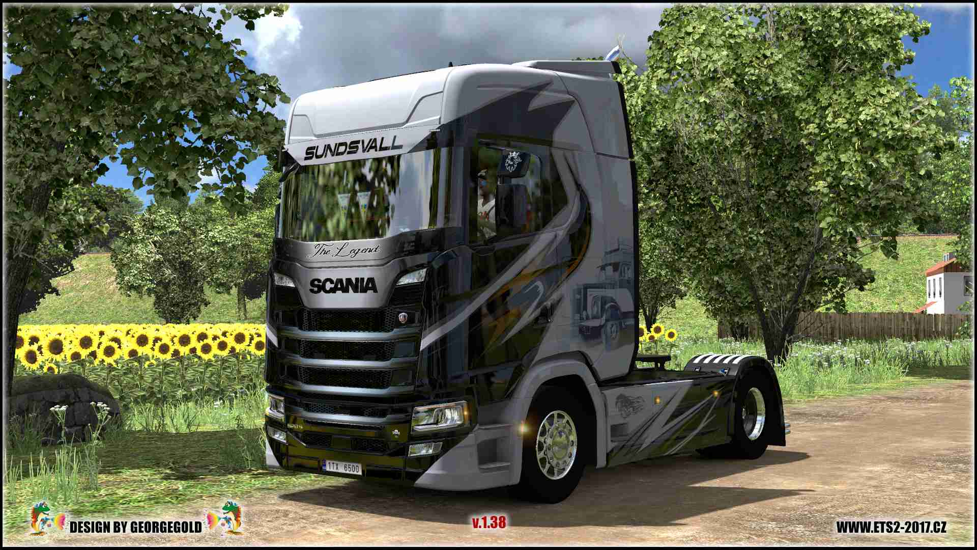 Scania S NG TD The Legend