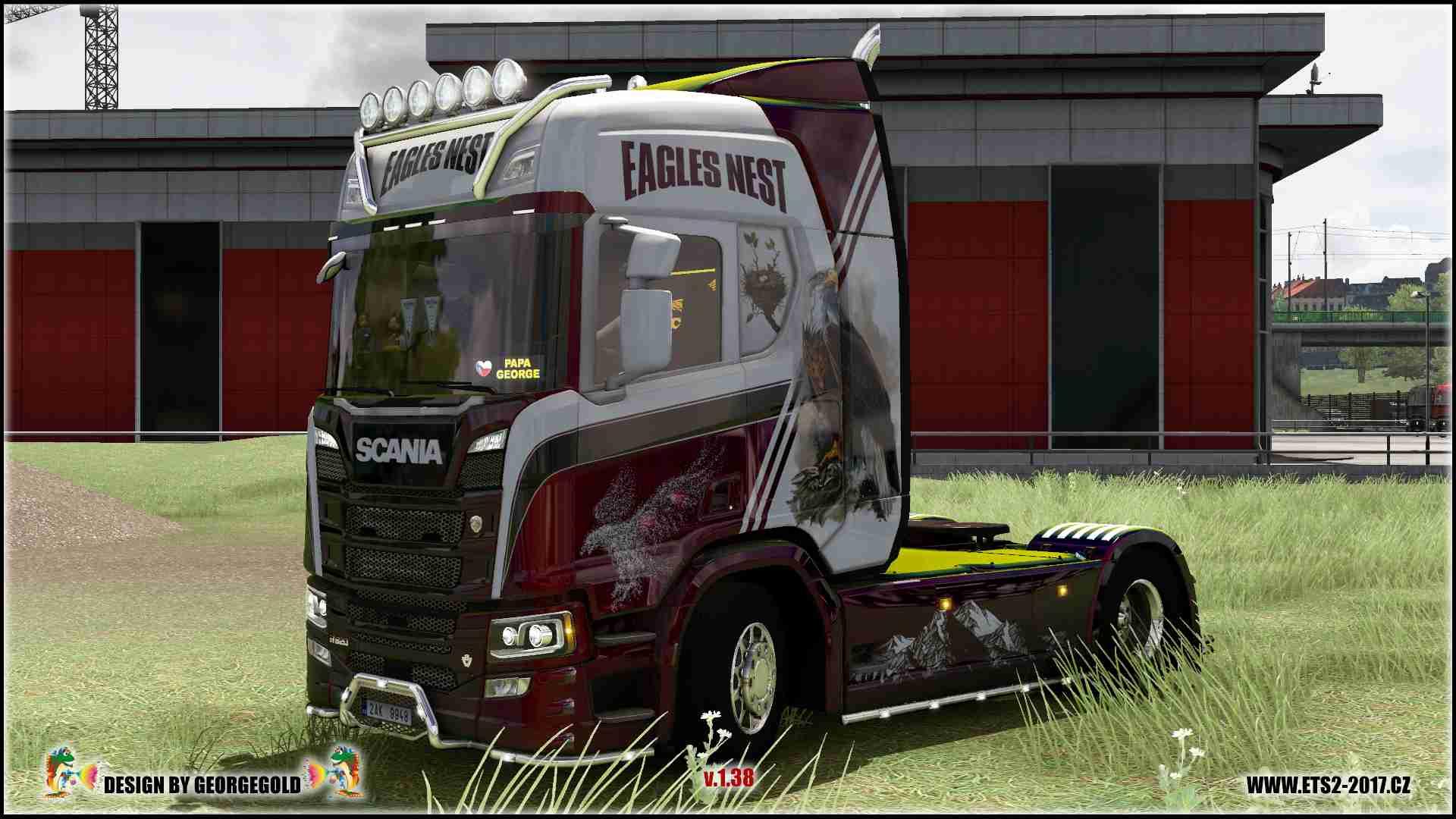 Scania R NG Eagles Nest /metallic/