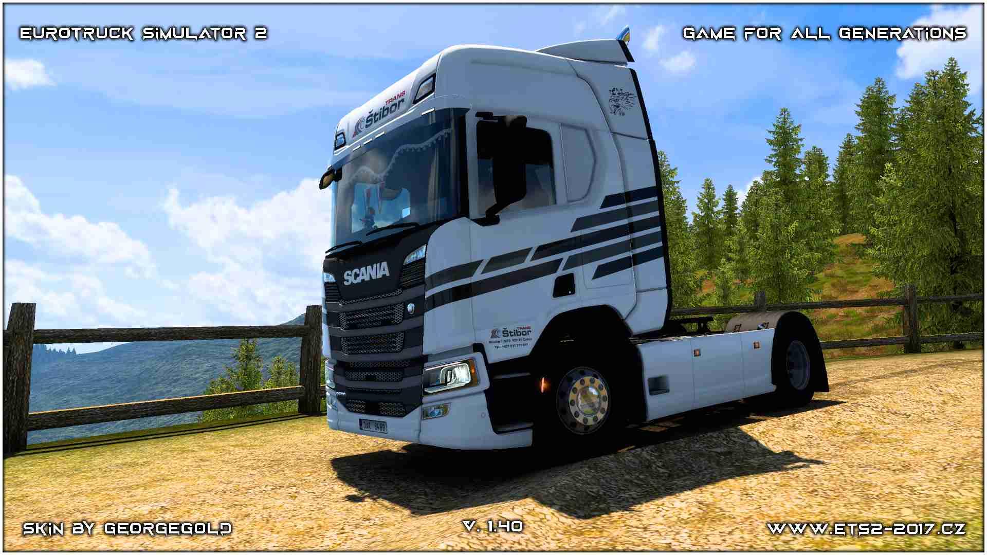 Scania R NG Štibor Trans