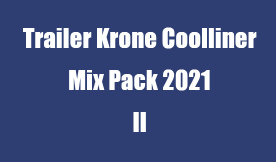 Trailer Krone Coolliner Mix Pack 2021 II