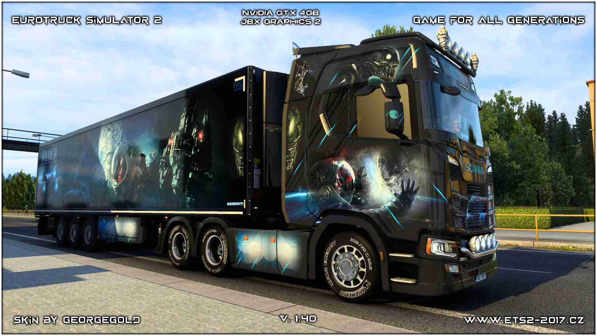 Combo Scania S NG Alien