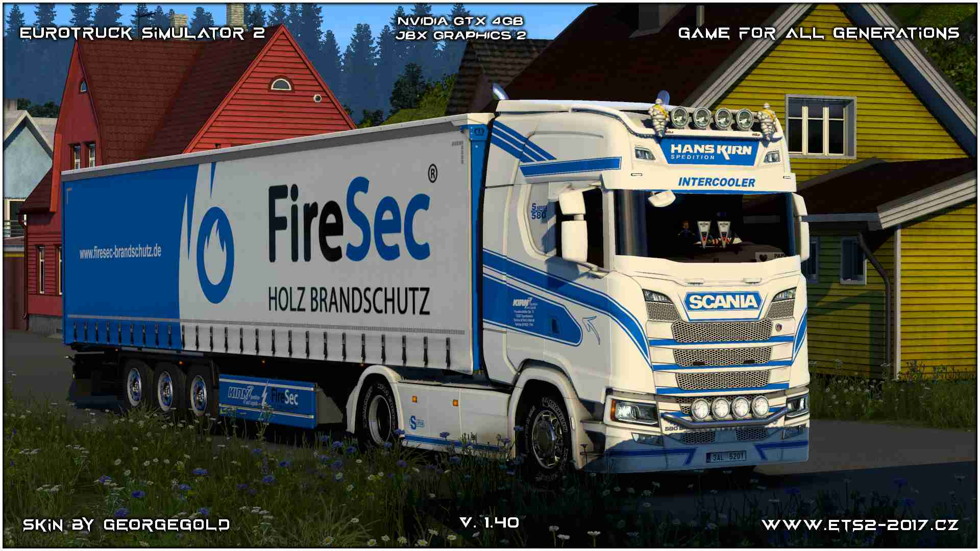 Combo Scania S NG Kirn Spedition Blue