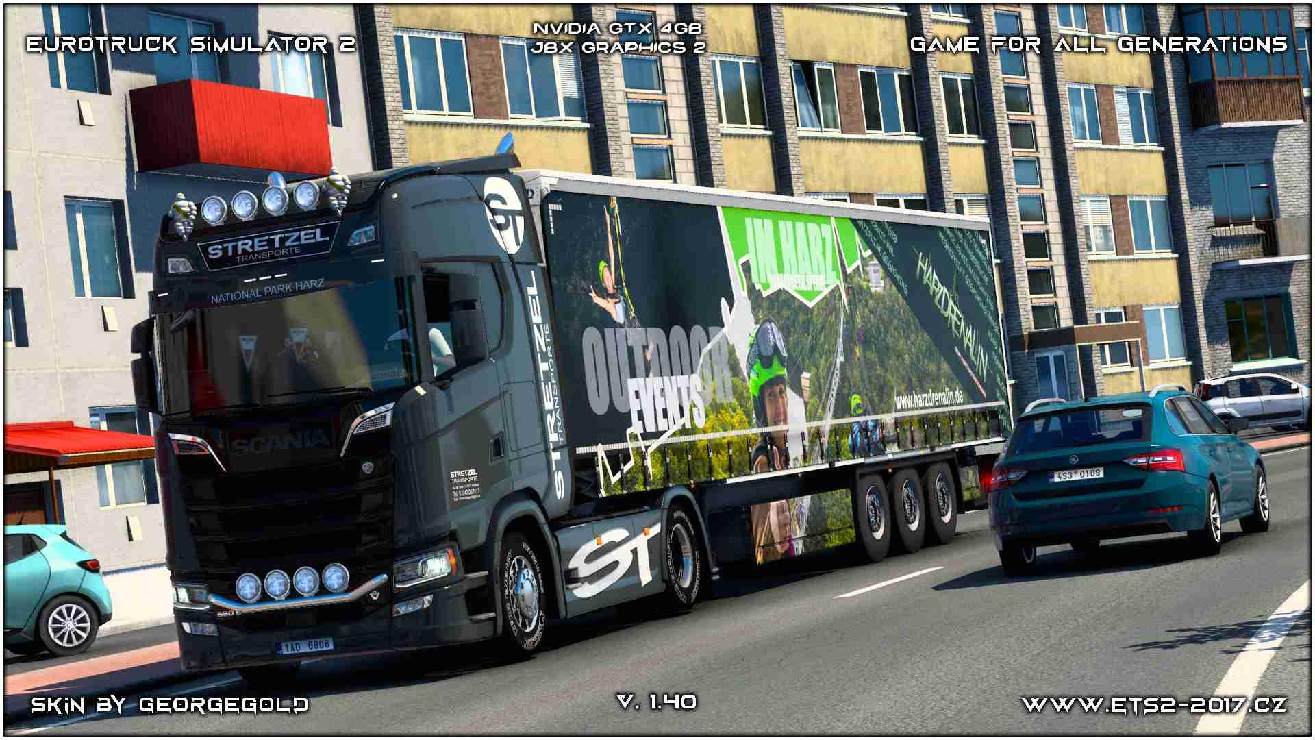 Combo Scania S NG Stretzel 1+2