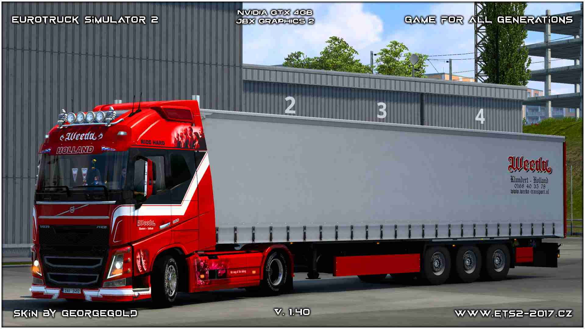 Combo Volvo FH 2012 Weeda