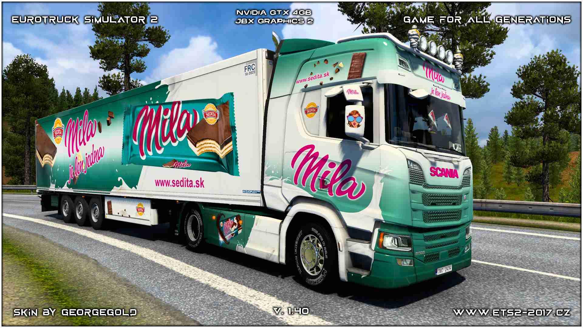 Combo Scania R NG Sedita Mila /+BONUS+/
