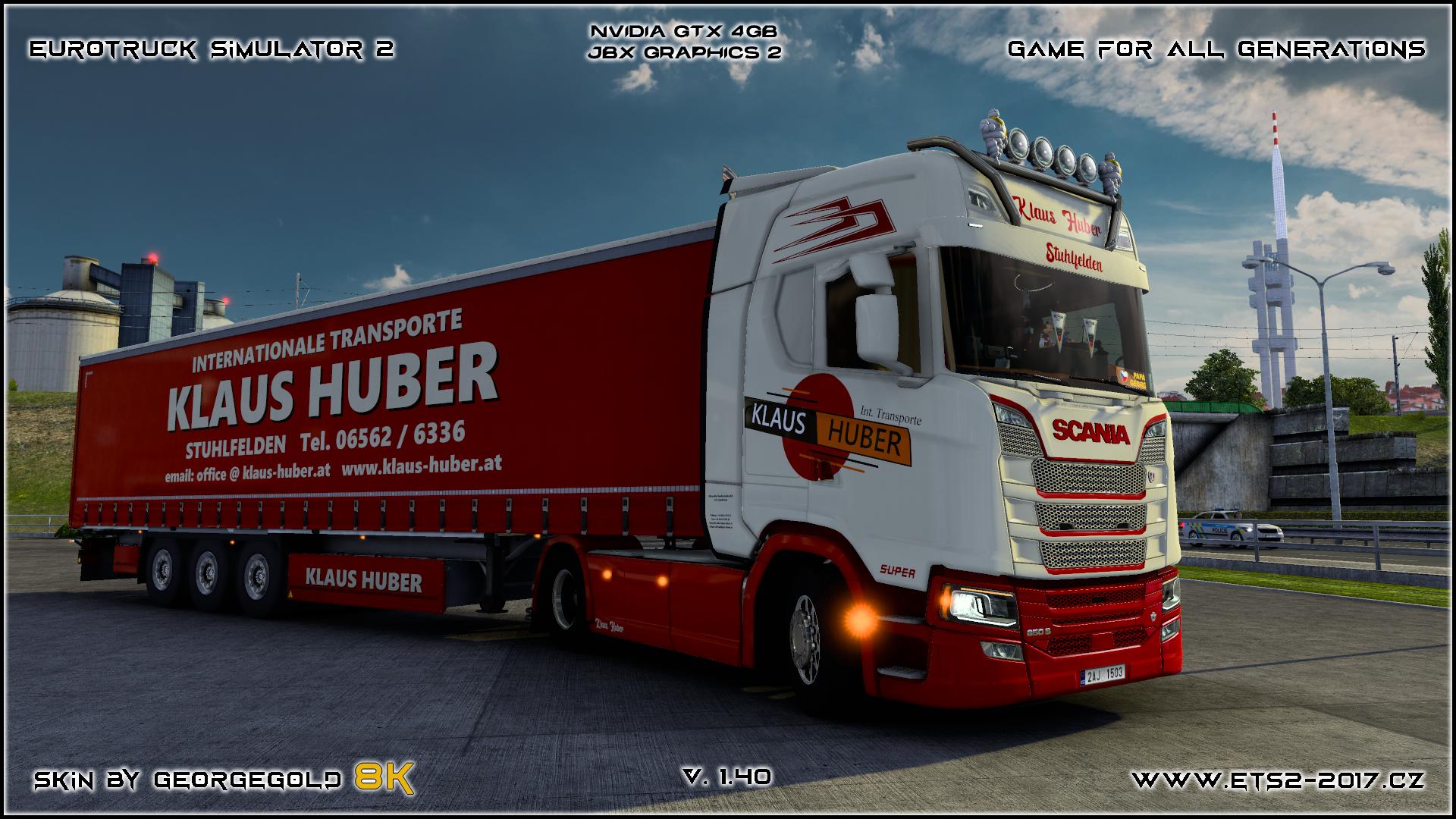 Combo Scania S NG Klaus Huber