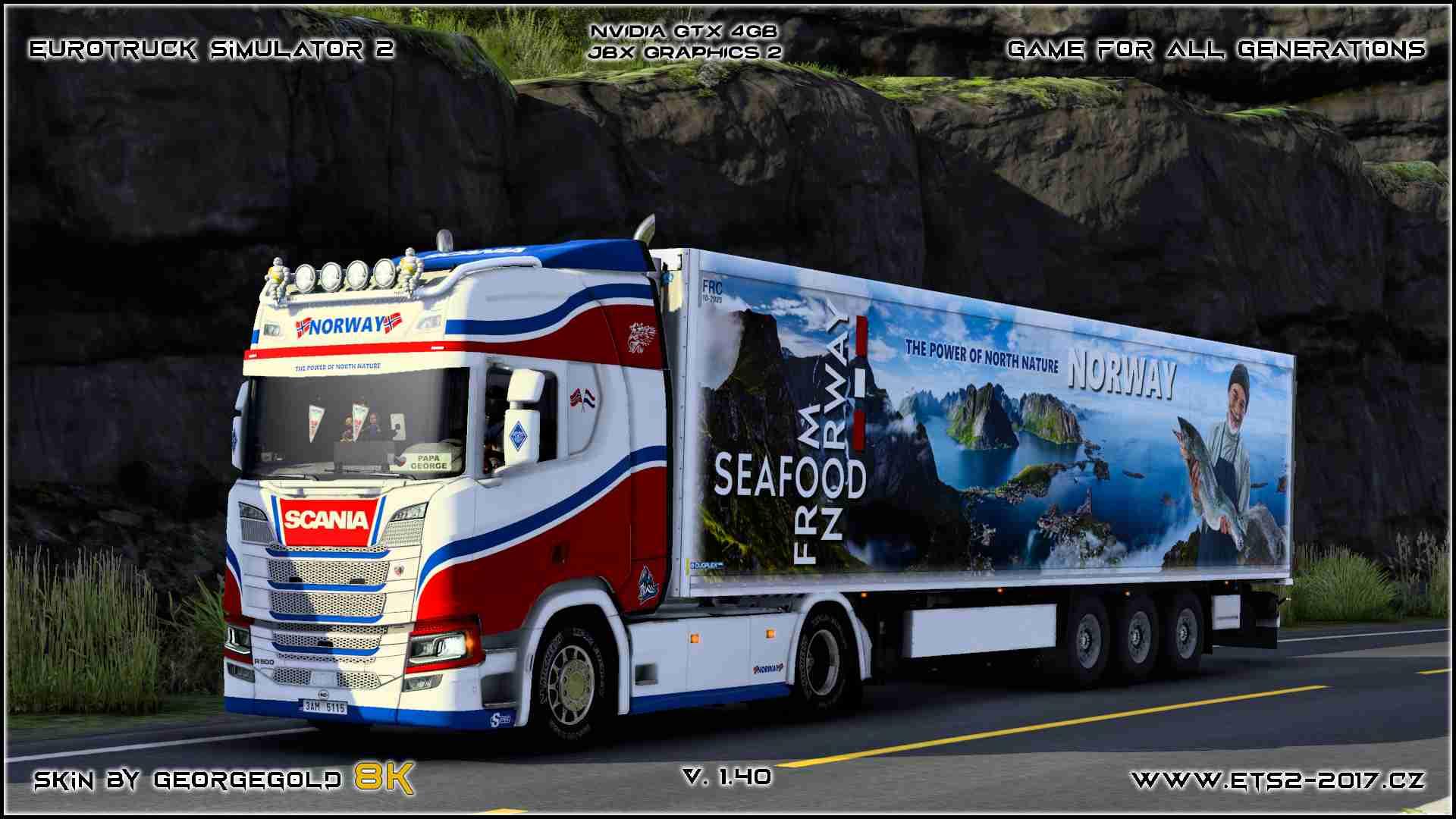 Combo Scania NG R Norway Edition