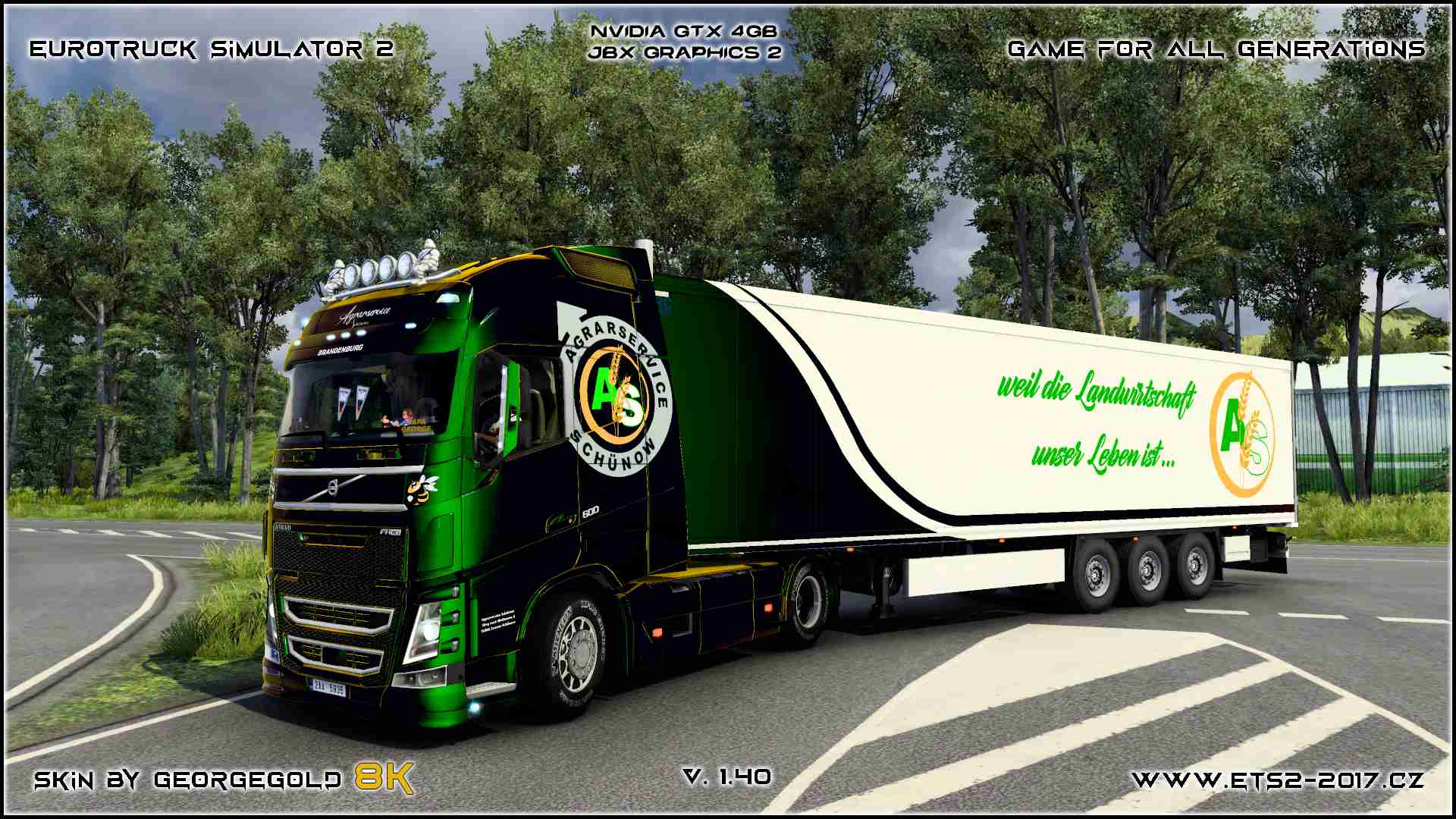 Combo Volvo FH 2012 Agrarservice