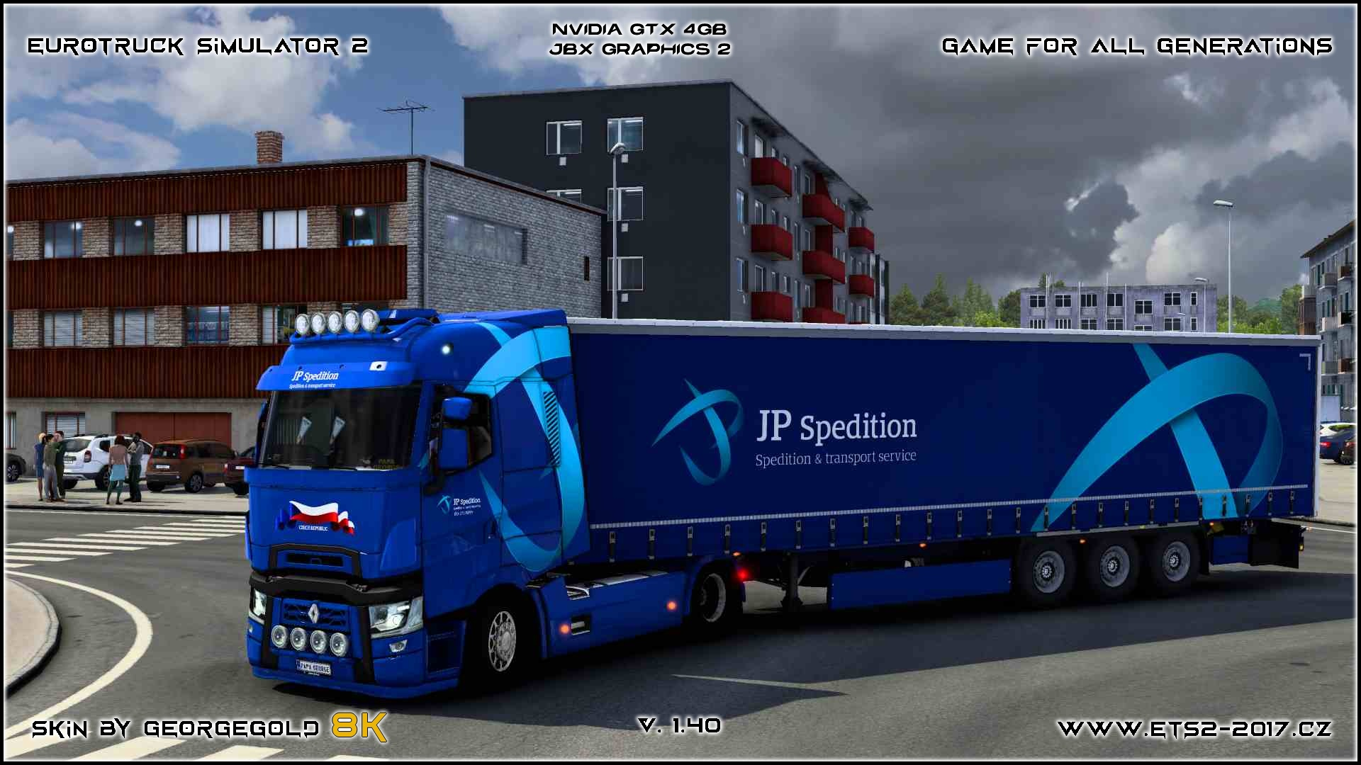 Combo Renault T JP Spedition